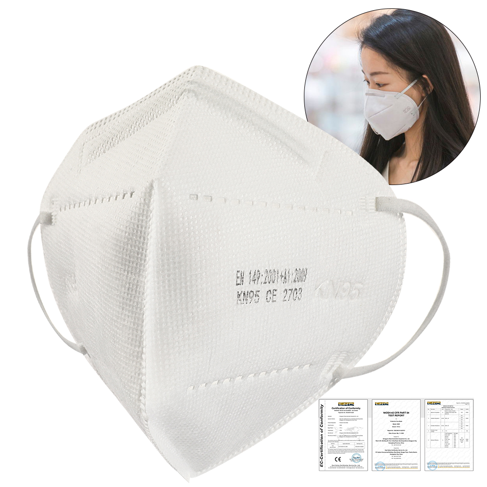 AMEIZII Disposable Mask KN95 Face Mask 5pcs